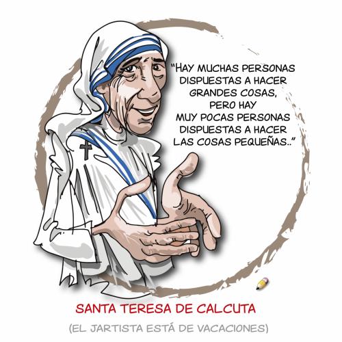 elJartista 119 13.08.18 Teresa Calcuta