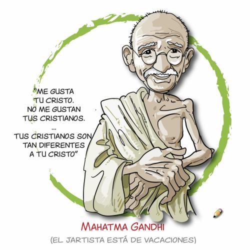 elJartista 128 26.08.18 Mahatma Gandhi