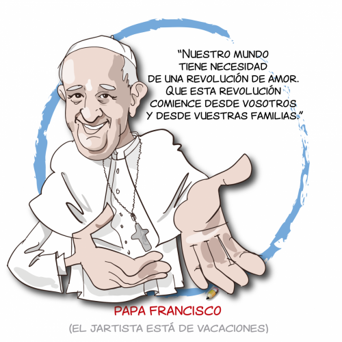 elJartista 133 31.08.18 Papa Francisco